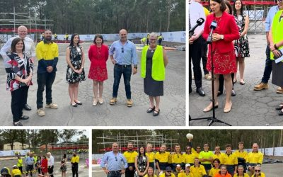 NSW PREMIER VISITS OUR NEW SITE IN THE SHOALHAVEN!